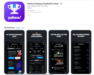 Yahoo Fantasy App